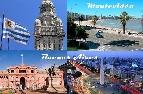 Buenos Aires e Montevidéu - Montagem