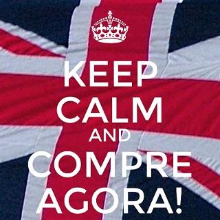 Keep Calm and Compre Agora - Reduzida