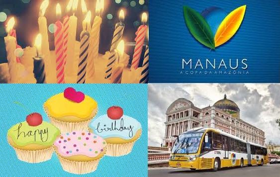 Manaus - Aniversario - 344 anos - 2013