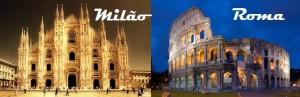 Mamma mia! Prefere Roma ou Milão? A escolha é sua! Passagens a partir de R$ 1653, você encontra AQUI!