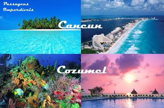 Montagem - Cancun e Cozumel
