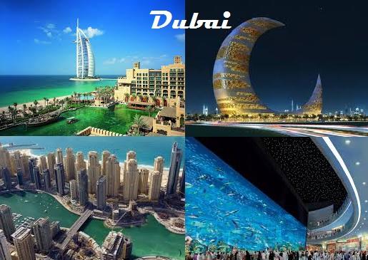 Montagem - Dubai