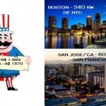 O Tio Sam nos chama novamente! Passagens em alta temporada, a partir de R$ 1553,00, saindo do RJ p/ Boston e San Jose/CA (San Francisco/CA)
