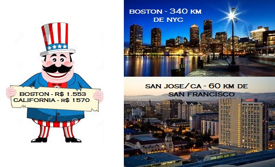 Tio Sam - Boston e San Jose