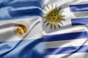 Argentina - Uruguay - Bandeiras