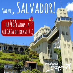 Salvador 465 anos