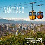 Promoção de passagens internacionais! SANTIAGO, Chile a partir de R$ 446, ida e volta! Viaje nos meses de JUNHO e JULHO, inclusive na COPA DO MUNDO!