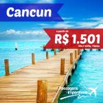 Promoção de passagens baratas para CANCUN! A partir de R$ 1.501, ida e volta, para viajar até NOVEMBRO/2014! Saídas do Rio de Janeiro!