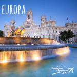 Passagens aéreas baratas! Com destino a várias cidades na Europa a partir de R$ 1.448 ida e volta, viaje até Novembro/2014!