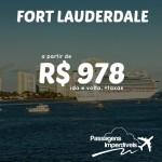Imperdível! Passagens para Fort Lauderdale saindo de Manaus a partir de R$ 978 – ida e volta, outras cidades a partir de R$ 1.244 – ida e volta