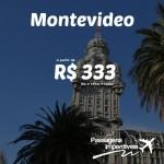 Promoção de passagens para MONTEVIDÉU, a partir de R$ 333, ida e volta! Saídas do Rio de Janeiro e Porto Alegre, para viajar até DEZEMBRO/2014!