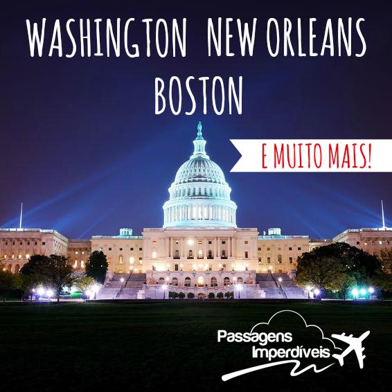 Washington New Orleans Boston