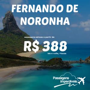 Fernando de Noronha 388 reais