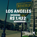 Promoção de passagens para LOS ANGELES!!! Saídas de diversas cidades, para viajar até NOVEMBRO/14, a partir de R$ 1.432, ida e volta!