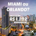 IMPERDÍVEL! Promoção de passagens para MIAMI e ORLANDO, a partir de R$ 1.202, ida e volta! Viaje até DEZEMBRO/14, inclusive nas FÉRIAS DE JULHO e na BLACK FRIDAY! Saídas de várias cidades brasileiras!