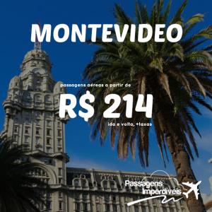 Montevideo 214 reais