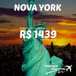 Promoção de passagens para NOVA YORK!!! A partir de R$ 1.439, ida e volta, com saídas de diversas cidades brasileiras! Viaje até MARÇO/2015!!!