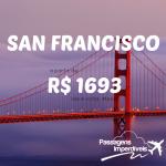 Promoção de passagens para SAN FRANCISCO, na Califórnia! A partir de R$ 1.693, ida e volta!!! Para viajar até DEZEMBRO/14!!! Saídas de várias cidades brasileiras!!!