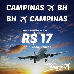 Belo Horizonte Campinas 17 reais