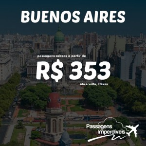 Buenos Aires - R$ 353