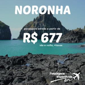 Fernando de Noronha 677 reais
