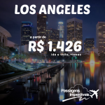 Promoção de passagens para LOS ANGELES a partir de R$ 1.426 ida e volta! Com datas até Novembro/2014 e opções de voos diretos!