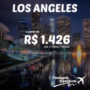 Los Angeles R$ 1426 ida e volta