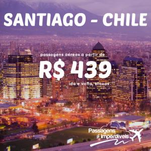 Santiago Chile 439 reais