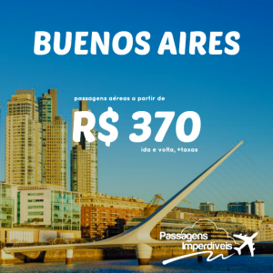 Buenos Aires 370 reais
