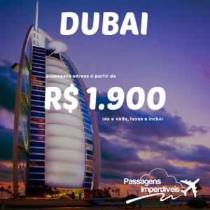 Dubai 1900 reais