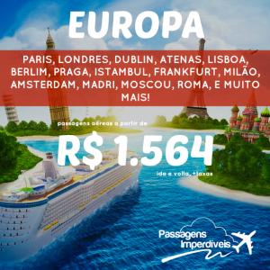 Europa 1564 reais