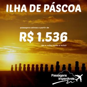 Ilha de Pascoa 1536 reais