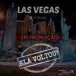 Ela voltou! Promoção para <b>LAS VEGAS</b> (Passagem + Hotel) a partir de R$ 1.536! Viaje de Julho a Novembro/14!