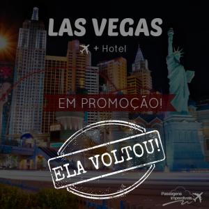 Las Vegas Passagem + Hotel 1536 reais