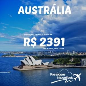 Austrália R$ 2381
