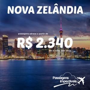 Nova Zelandia 2340 reais