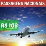 Passagens nacionais a partir de R$ 103 ida e volta, para viajar de junho a agosto/2014!