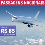 Promoção de passagens nacionais a partir de R$ 85 ida e volta!