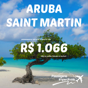 Aruba Saint Martin 1066 reais