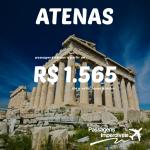 Promoção de passagens da Swiss para a <b>GRÉCIA</b>! Saídas de São Paulo para <b>Atenas</b>, a partir de R$ 1.565, ida e volta!