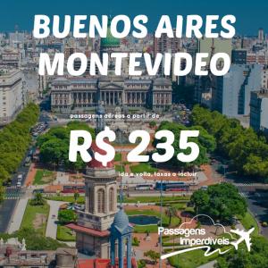 Buenos Aires Montevideo 235 reais