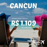Promoção de passagens para <b>CANCUN</b>, a partir de R$ 1.109, ida e volta!