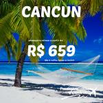 IMPERDÍVEL!!! Promoção de passagens para <b>CANCUN</b>, a partir de R$ 659, ida e volta! Viaje até Maio/15!!!