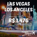 Promoção de passagens para <b>LAS VEGAS</b> e <b>LOS ANGELES</b>! A partir de R$ 1.476, ida e volta! Saídas de 26 cidades!