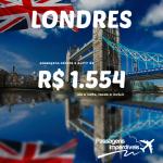 Promoção de passagens para <b>LONDRES</b>! A partir de R$ 1.554, ida e volta, para viajar entre os meses de Outubro/14 e Março/15!