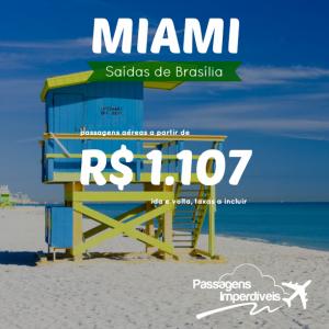 Miami Brasília 1107 reais