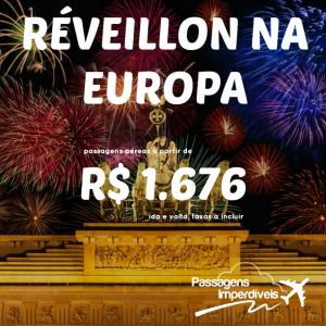 Reveillon Europa 1676 reais