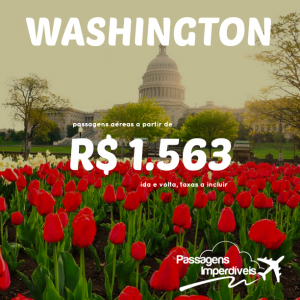 Washington 1563 reais