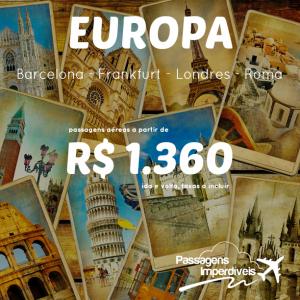Europa 1360 reais