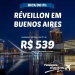 Saiba tudo sobre o <b>Réveillon</b> em <b>BUENOS AIRES</b>, e garanta sua passagem a partir de R$ 539, ida e volta!